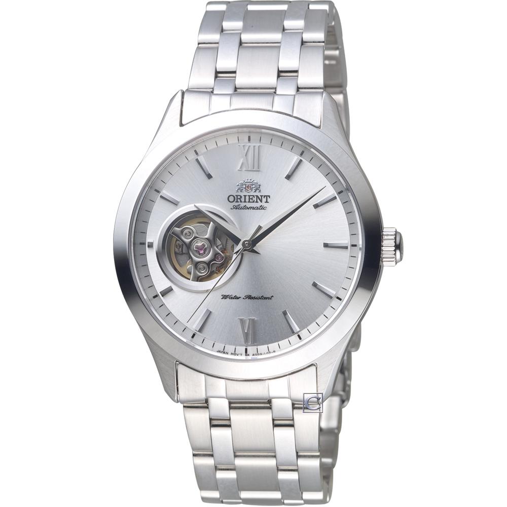 ORIENT 東方錶 SEMI-SKELETON小鏤空機械錶   FAG03001W