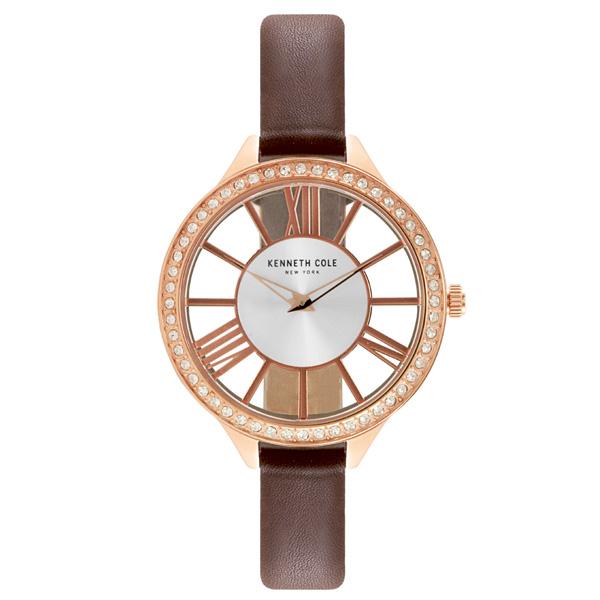 Kenneth Cole 羅馬夜夢 晶鑽腕錶~KC50184002