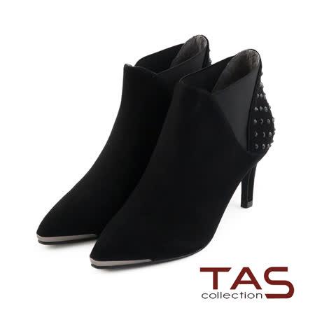 TAS  立體閃耀水鑽踝靴