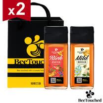 【蜜蜂工坊】精選蜂蜜禮盒(濃郁果蜜700g+雅致原蜜700g) x2組