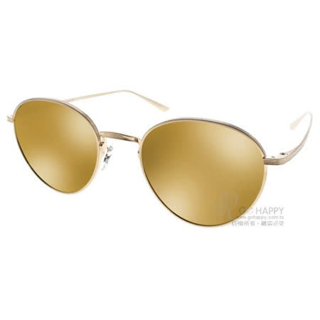 OLIVER PEOPLES 太陽眼鏡 BROWNSTONE2 5252R5 (金) The Row聯名款 # 金橘眼鏡