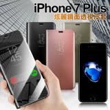 AISURE iPhone 7 Plus 5.5吋 炫麗鏡面透視皮套