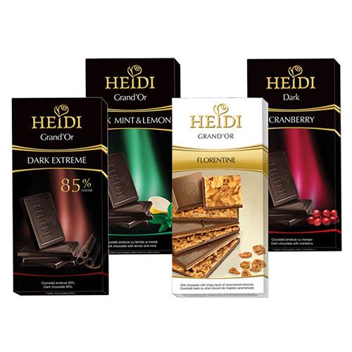 [超值任選五片免運組] 瑞士赫蒂 精選巧克力