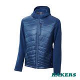【HAKERS 哈克士】男款 Primaloft保暖刷毛外套(靛藍色)