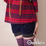 Gennies奇妮-實穿百搭款羊毛孕婦短褲(三色可選)(G4407)