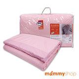 媽咪小站-嬰兒乳膠加厚中床墊(粉)