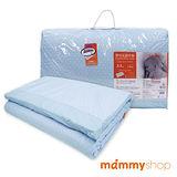 媽咪小站-嬰兒乳膠加厚中床墊(藍)