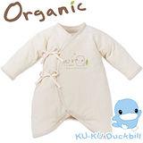 【KU.KU酷咕鴨】春夏有機純棉蝴蝶裝