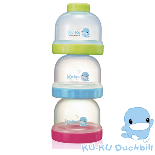 【KU.KU酷咕鴨】疊疊樂食物奶粉罐