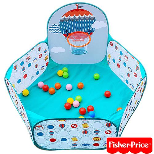費雪Fisher-Price 球池圍欄(內附25顆海洋球)