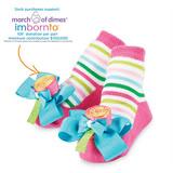 美國 Mud Pie 時尚造型棉襪/止滑襪/假鞋襪/嬰兒襪 棒棒糖造型(MPSG1-04)