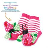 美國 Mud Pie 時尚造型棉襪/止滑襪/假鞋襪/嬰兒襪 瓢蟲造型(MPSG1-05)