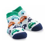 H美國 Mud Pie 時尚造型棉襪/止滑襪/假鞋襪/嬰兒襪 汽車圖案造型(MPSG1-17)