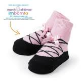 美國 Mud Pie 時尚造型棉襪/止滑襪/假鞋襪/嬰兒襪 芭雷舞者