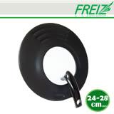 【FREIZ】日本品牌多尺寸強化玻璃鍋蓋(24-28cm)
