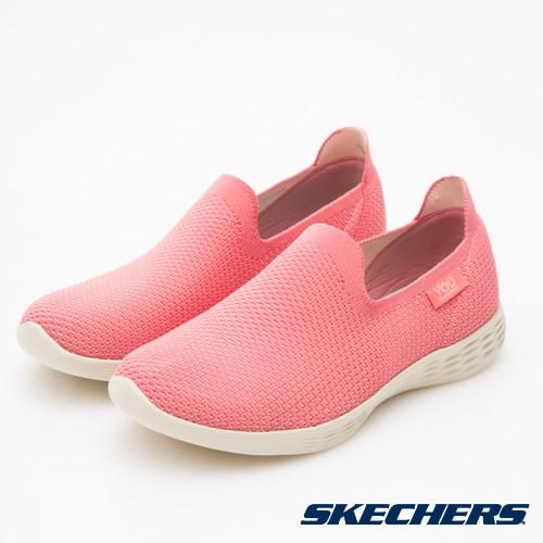 SKECHERS (女) 時尚休閒系列 YOU DEFINE - 14956WPNK