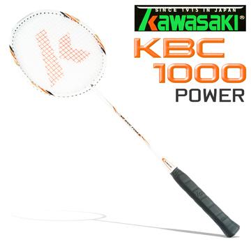 Kawasaki KBC1000 碳纖維超輕羽球拍(橘)