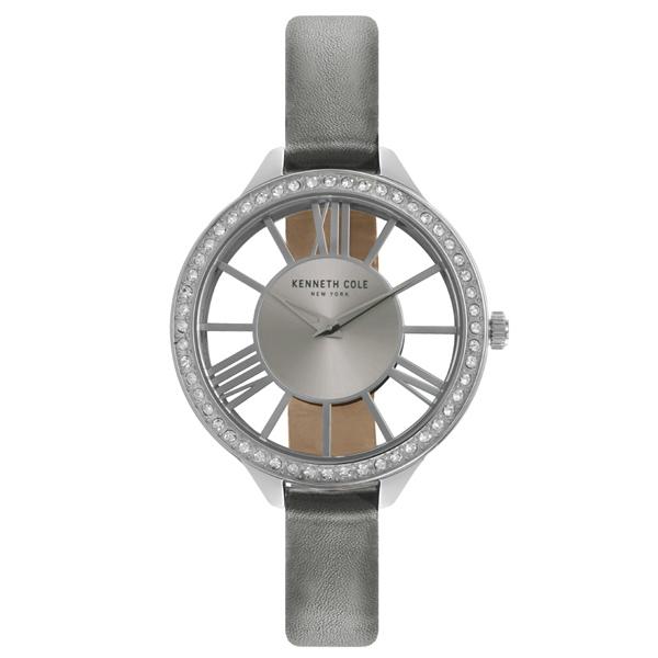 Kenneth Cole 羅馬夜夢 晶鑽腕錶~KC50184003