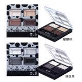 LB★日本超模 奢華眼彩盤限定版-璀璨黑/耀眼棕