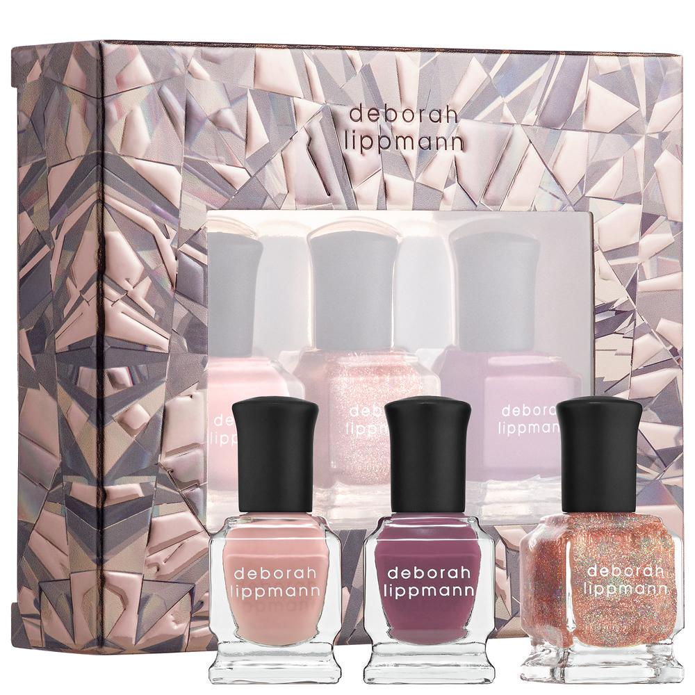 deborah lippmann奢華精品指甲油 》玻璃彩繪禮盒Color On Glass(8ml/3入)