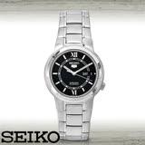 SEIKO 精工 盾牌五號 直紋機械錶  SNKA23K1