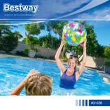 Bestway 31036 彩色充氣水上沙灘排球51cm