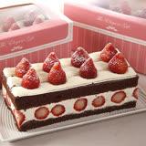 【基隆連珍】草莓巧克力蛋糕(600g/條)1條(含運)