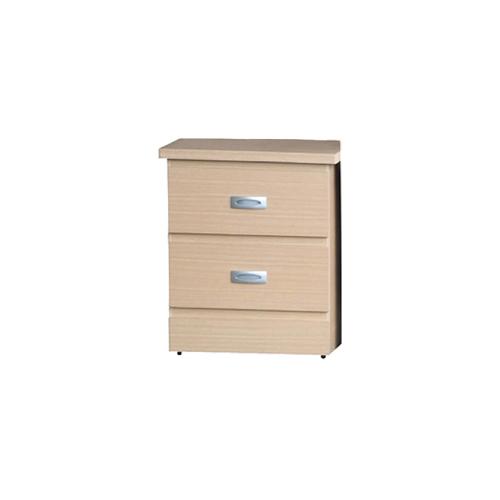 AS-阿奇爾洗白色床頭櫃-46.5x41.2x55.5cm