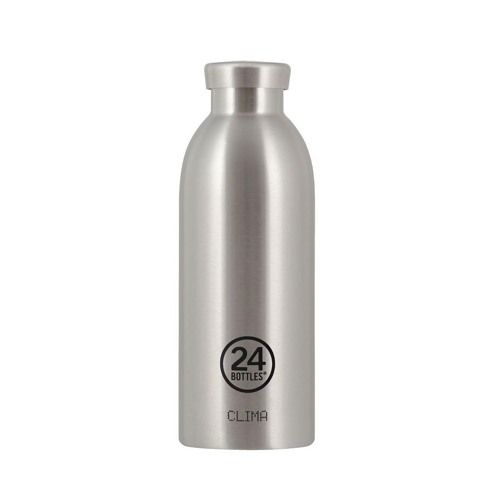 義大利 24Bottles Clima不銹鋼雙層保溫瓶 500ml - 不鏽鋼