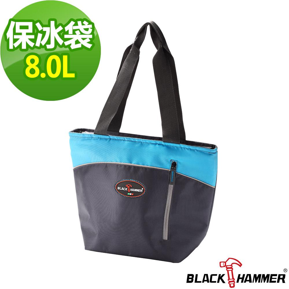 (任選)義大利 BLACK HAMMER 樂酷肩背保冰袋-8L
