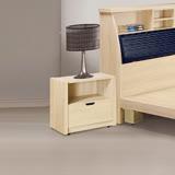 AS-凱撒原切橡木床頭櫃-50.5x40x48.5cm