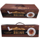 【台鹽】三合一台灣鹽山咖啡禮盒 2盒(54包/盒)