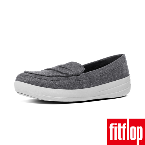 FitFlop™~ 女款 F~SPORTY™ PENNY LOAFERS~FELT~灰色