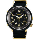 SEIKO精工 Prospex 4R35復古軍風限量錶-黑/44mm V157-0CJ0G(SBDJ028J)