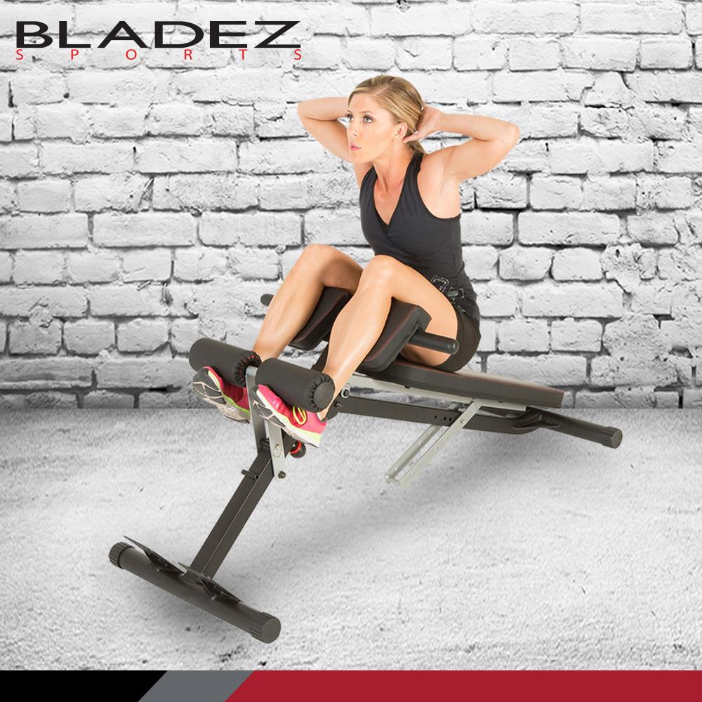 【BLADEZ】FITNESS REALITY 多功能腹/ 背伸展羅馬重訓椅 F2860