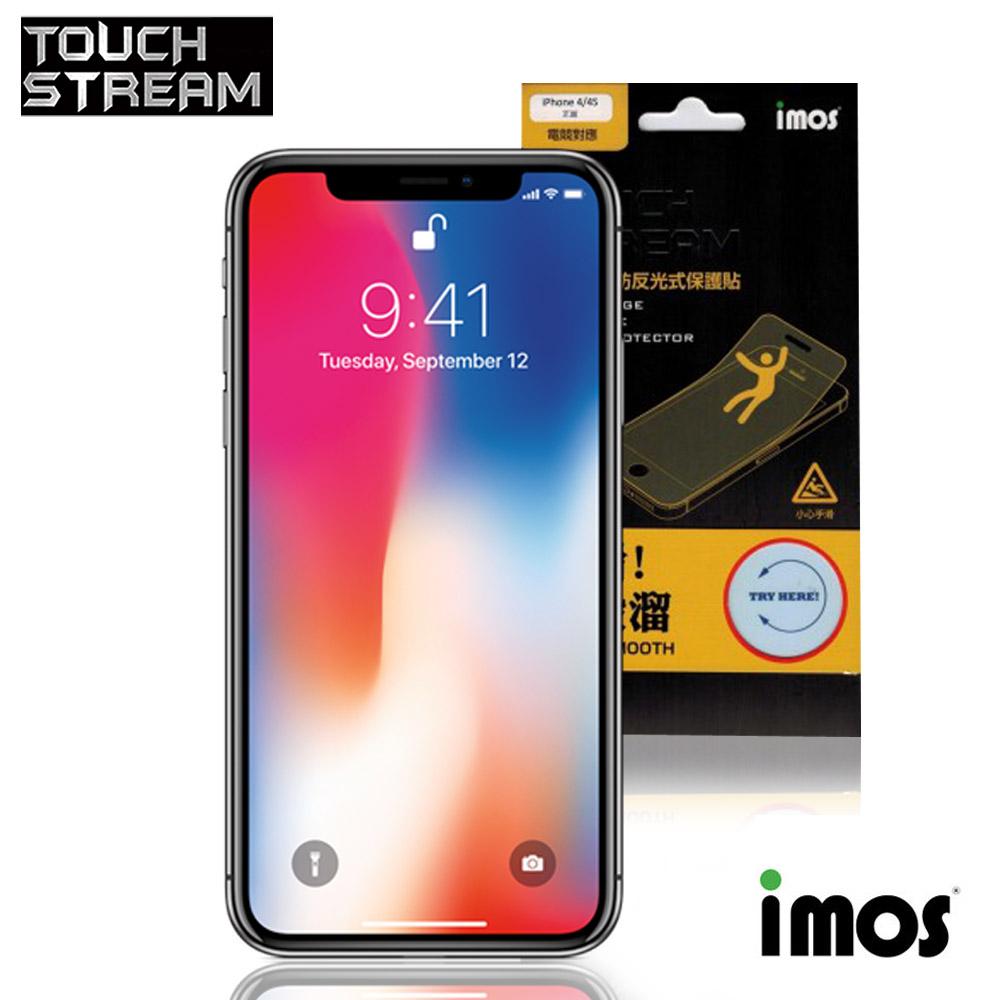 iMos Touch Stream iPhone X  正面 非滿版霧面保護貼