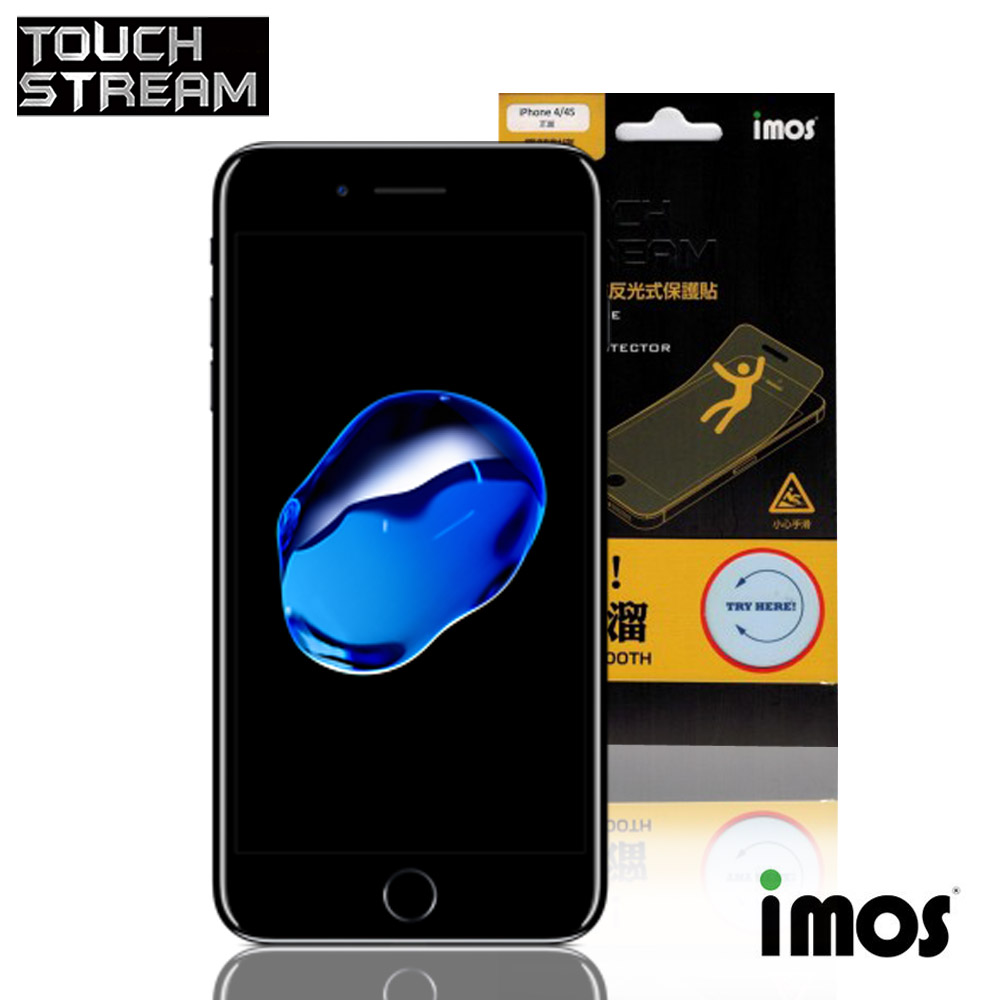 iMos Touch Stream iPhone8 Plus 5.5吋 正面 非滿版霧面保