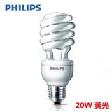 【飛利浦 PHILIPS】HELIX 20W 省電燈泡 黃光 E27(6入組)