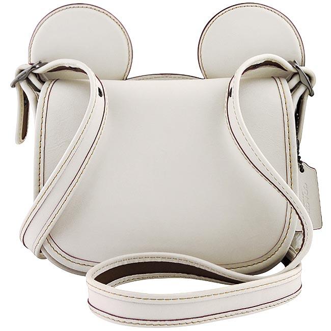 COACH Disney Mickey造型斜背包(白色)