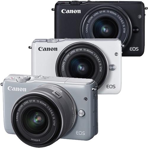 Canon EOS M10+15-45mm單鏡組(公司貨)