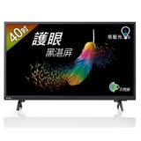 【BenQ】40吋護眼黑湛屏LED液晶顯示器/電視+視訊盒 40CF500