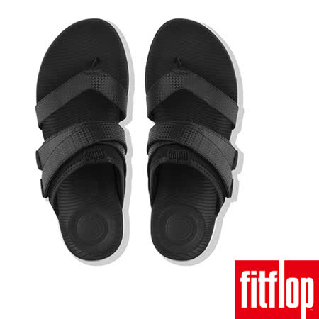 FitFlop - (女款)NEOFLEX TOE-THONG SANDALS-黑色