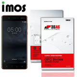 iMos NOKIA 5 3SAS 疏油疏水 螢幕保護貼