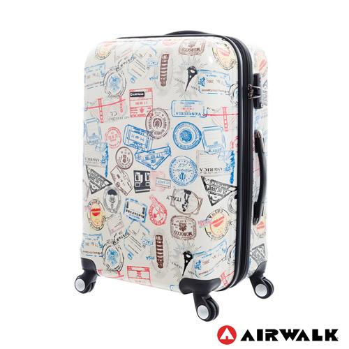 【AIRWALK】環郵世界行李箱24吋