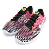 NIKE 女 慢跑鞋 WMNS NIKE FREE TR FLYKNIT 2 粉紅黑 -904658006