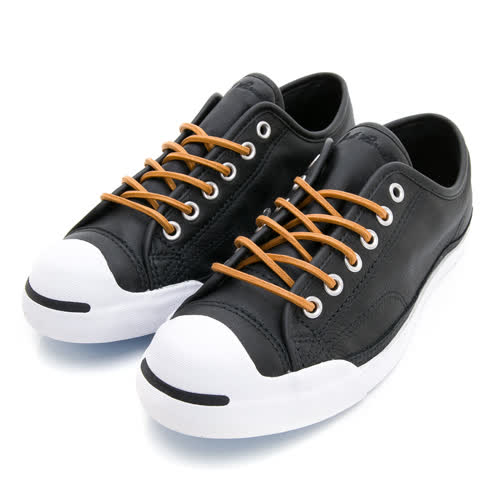CONVERSE 女 帆布鞋 JACK PURCELL LP L/S 黑 -158859C