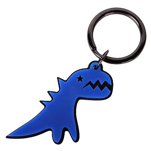 agnes b. - SPORT b閃電恐龍鑰匙圈(藍)