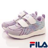 FILA頂級童鞋--夜光慢跑款-822R-139-白(17cm~20cm)