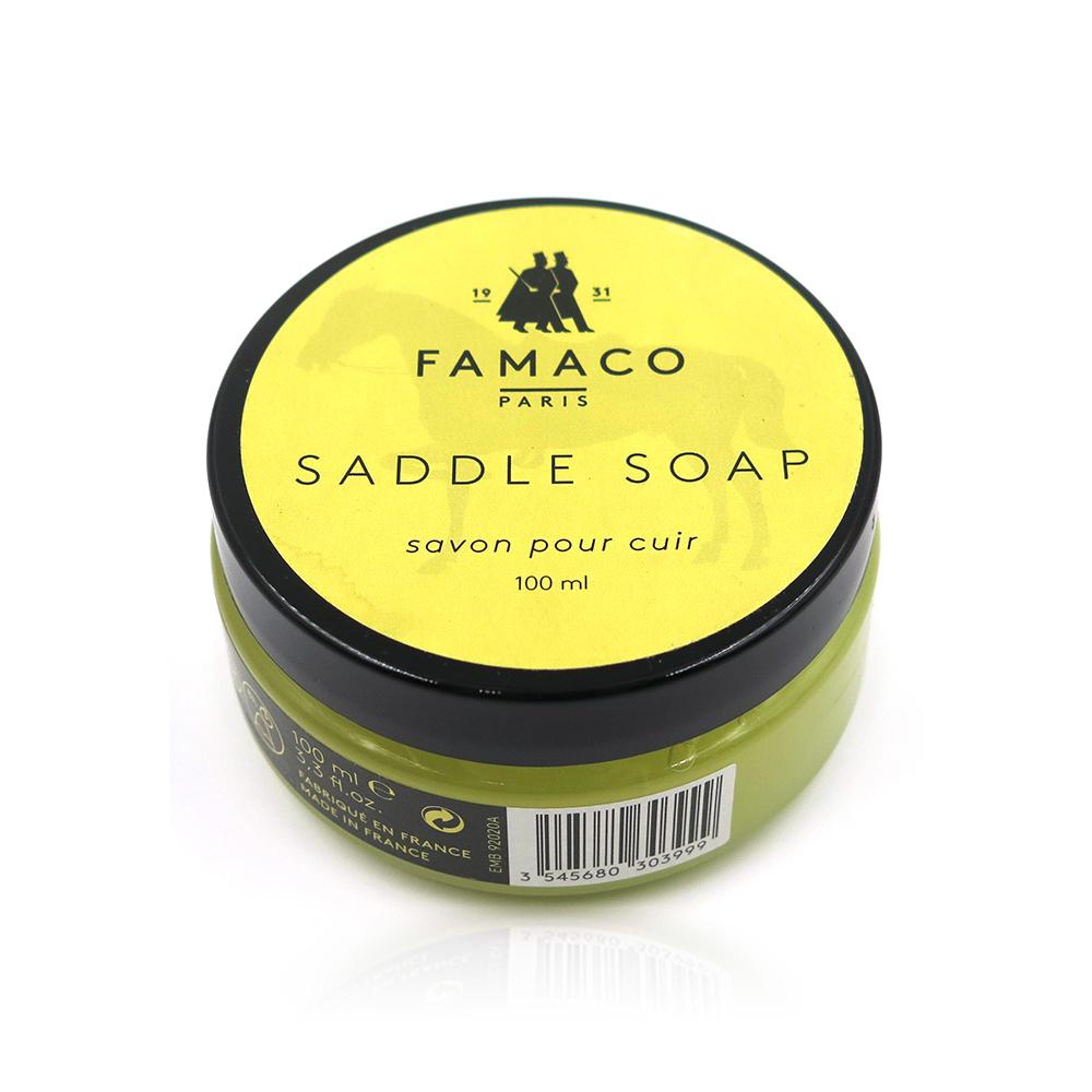 糊塗鞋匠 優質鞋材 K62 法國FAMACO皮革肥皂凝膠 100ml