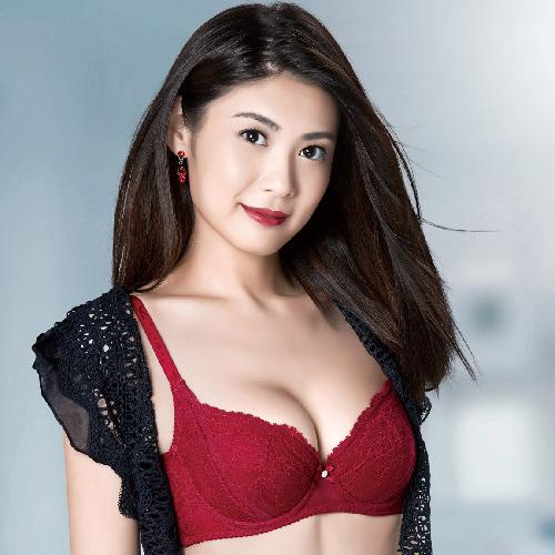 【華歌爾】X美型系列 D-E 罩杯 塑身機能內衣(靚麗紅)